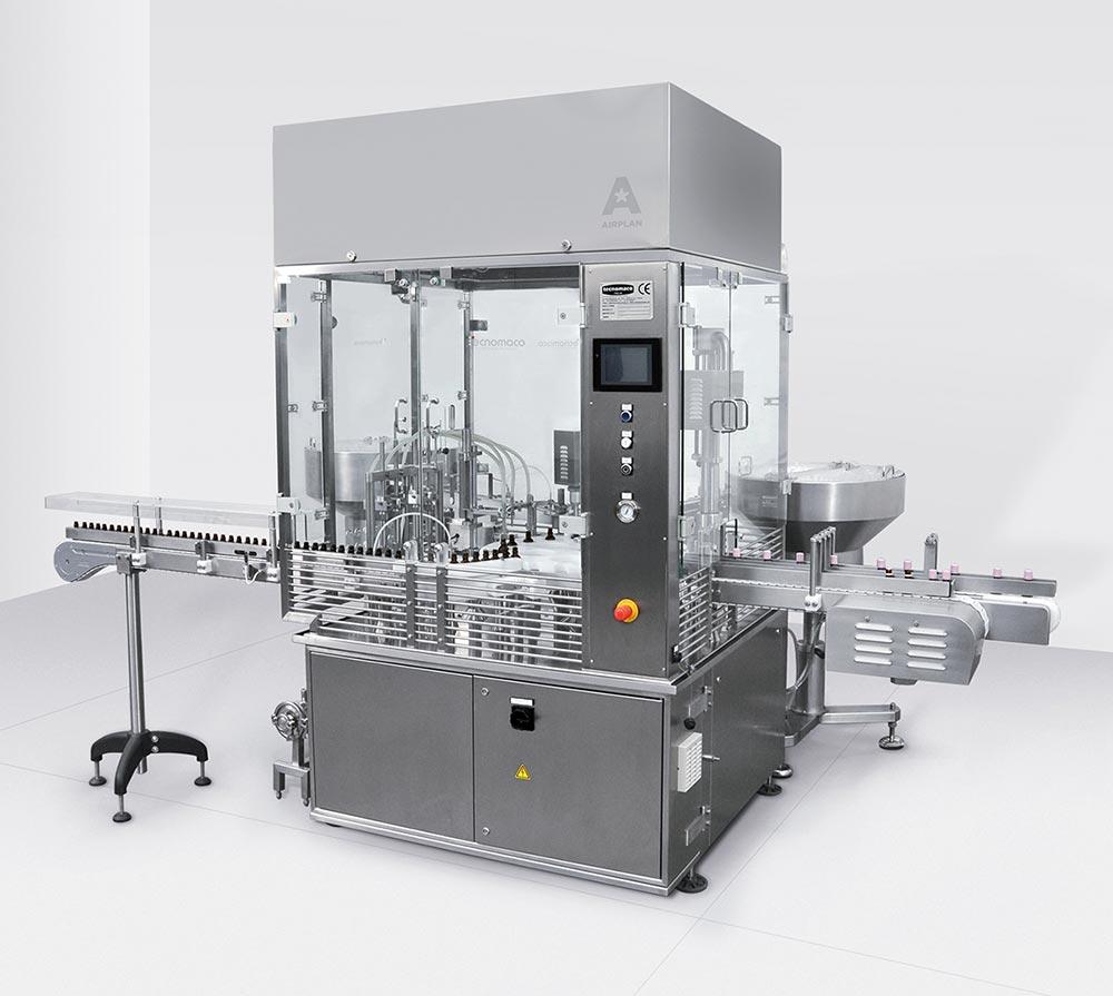 THE AIR FFU como accesorio - Aplicación en máquina de llenado