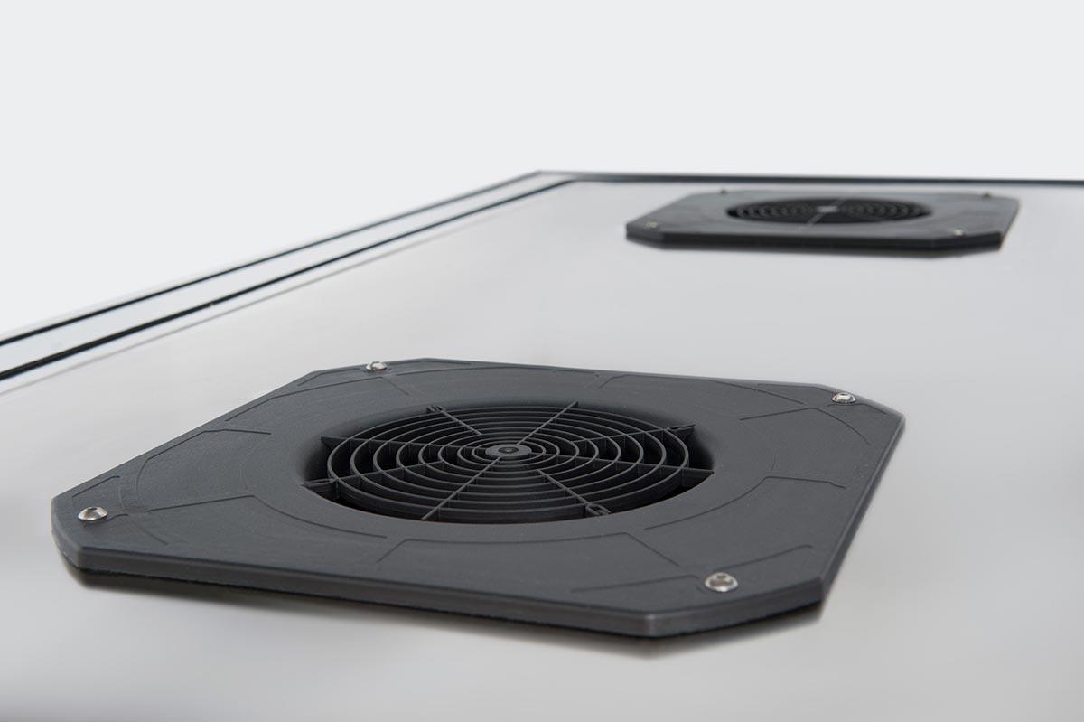 THE AIR FFU - de ventilación EC en la parte superior