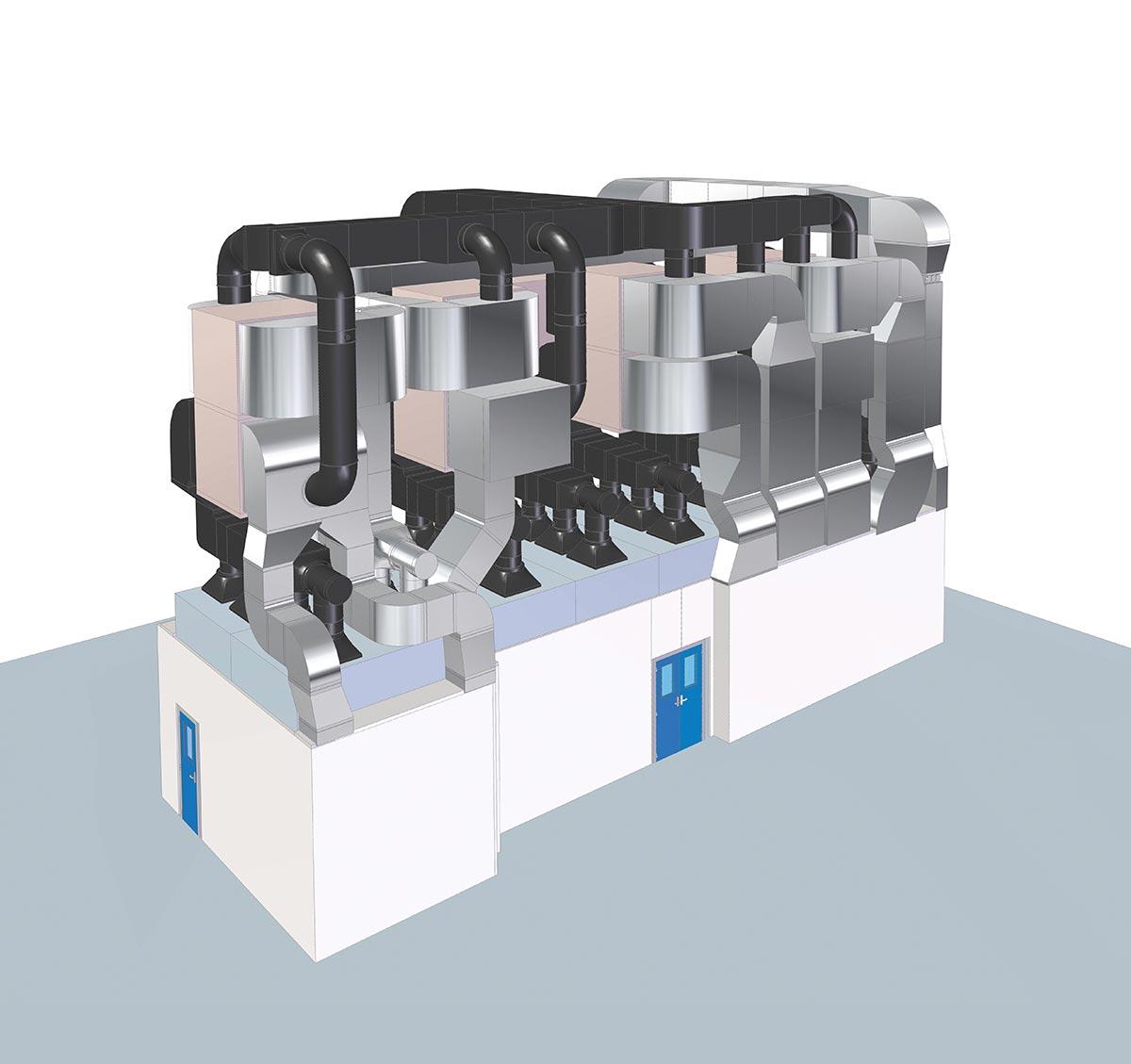 The Air Laminar - Proyecto de flujo laminar a medida