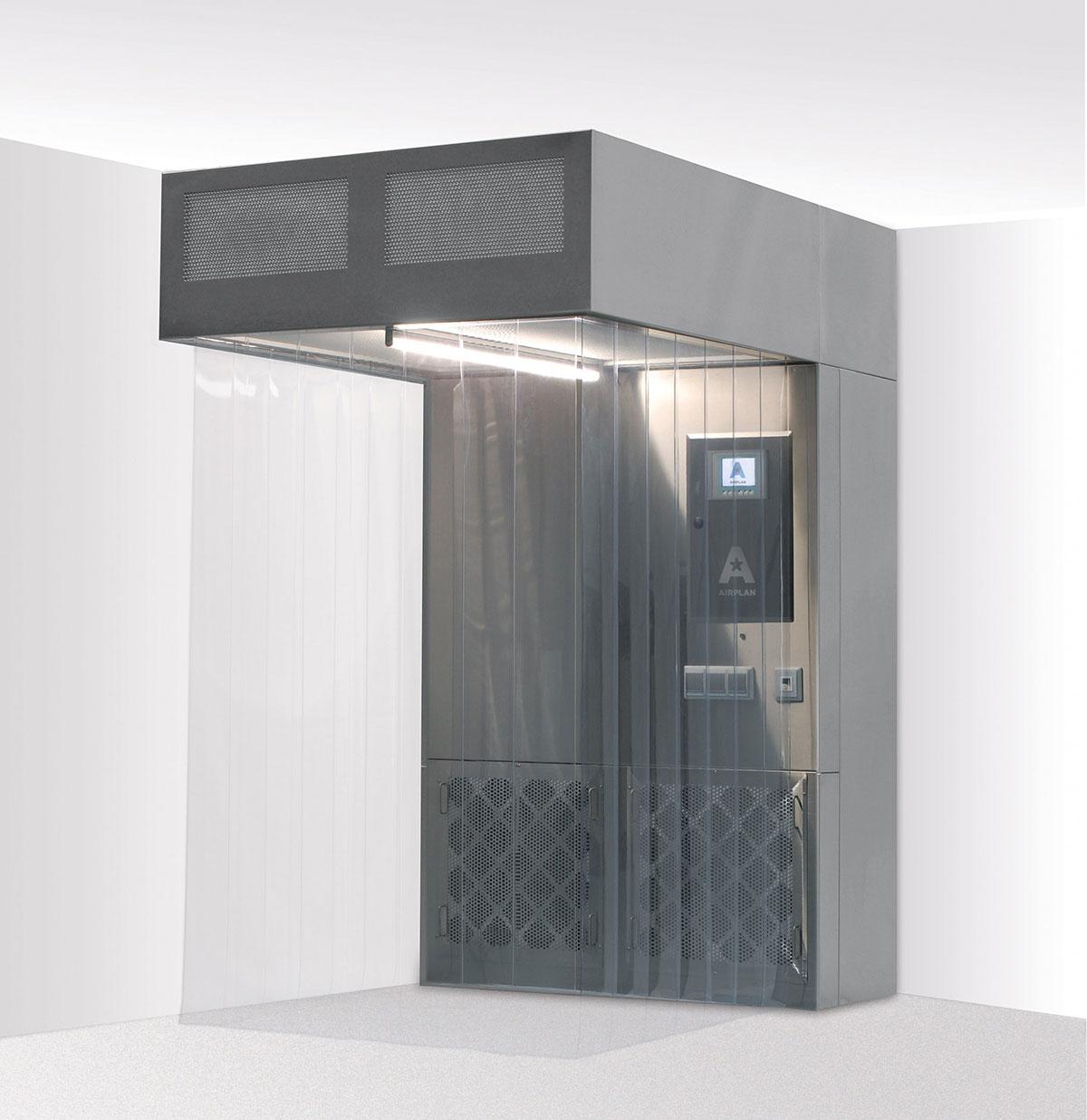 The Air Booth 2400 - Cabine de prélèvement et de pesées